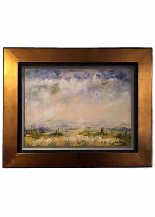 Aquarelle paysage Georges Brunon