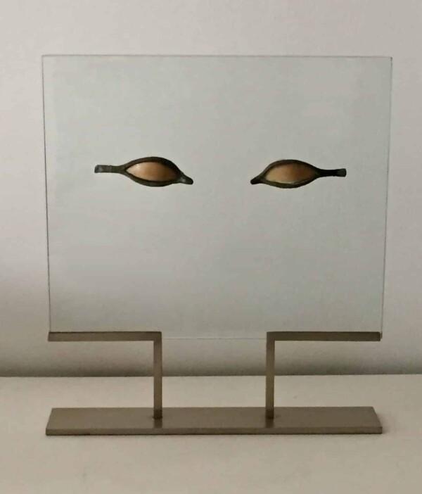 Paire d'yeux Incrustation pour un sarcophage Égypte